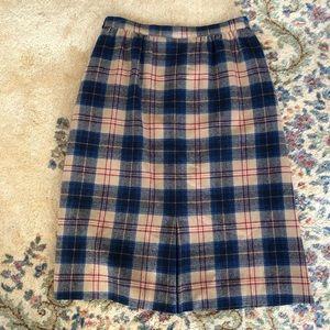 Pendleton Skirts - Cailean Tartan Plaid Vintage Pendleton Skirt M